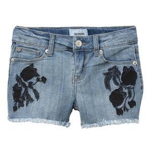 HUDSON Jeans Black Iris Shorts. NWT!